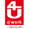 Logo 4U @work GmbH in Hannover